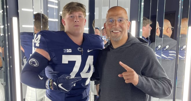 Penn State football is recruiting offensive lineman Koby Keenum from Florence, Ala.