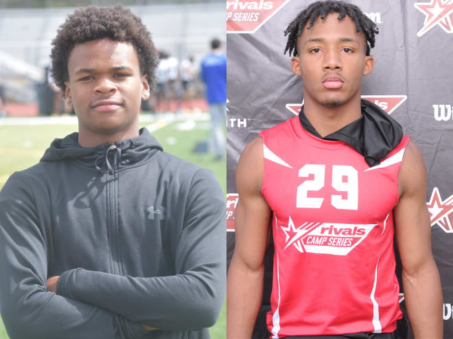 AJ Harris (right) and Ethan Nation (left) are locked in to make a trip to South Bend.