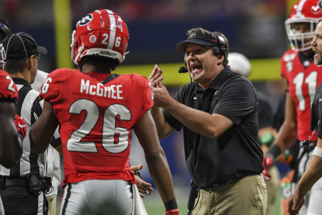 Kirby Smart challenged Bulldog fans to also make wise decisions.