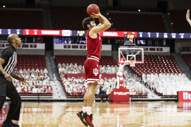 Anthony Leal's shooting has been a huge lift for the Hoosiers (IU Athletics)