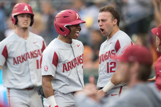 Christian Franklin and Casey Opitz are two of Arkansas' four preseason All-SEC selections.