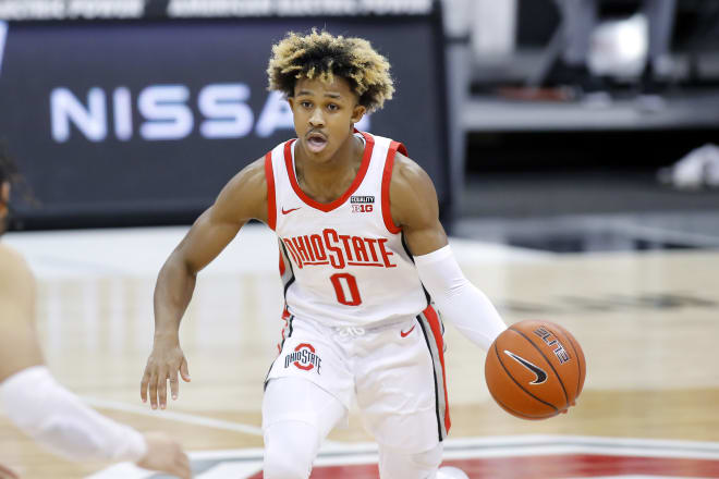 Freshman guard Meechie Johnson represents one of the biggest bright spots entering next season.
