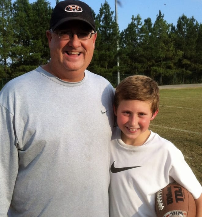 The late Gary Reichard, left, and his son Will, right were practically inseparable. Photo courtesy of Dana Reichard