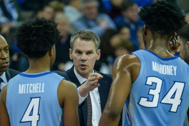 Creighton assistant coach Paul Lusk