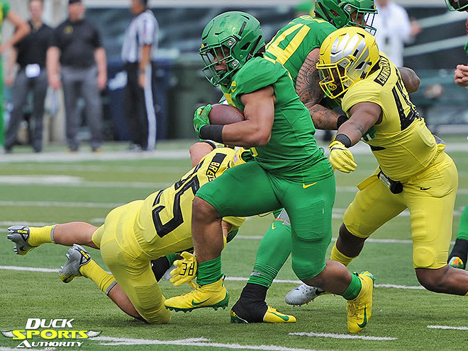 Four Oregon defensive backs got drafted by the NFL last weekend, including Brady Breeze in the sixth round by Tennessee.
