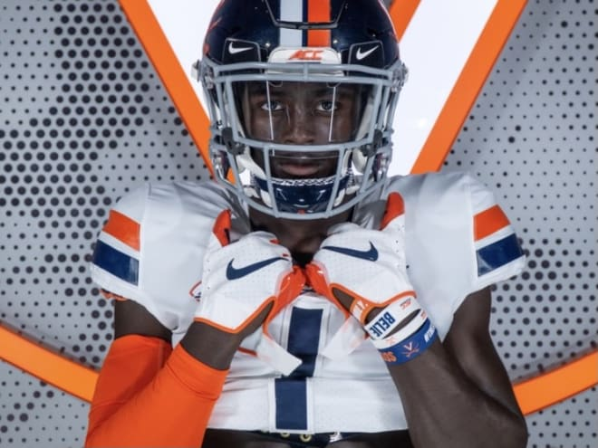 King William RB Demond Claiborne raved about his OV to UVa last weekend.