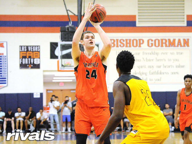 Michigan Wolverines basketball freshman Hunter Dickinson was a four-star recruit out of high school.