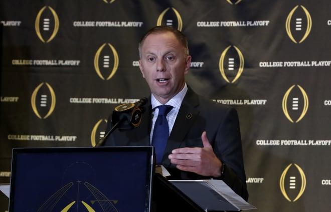 Oregon Athletic Director Rob Mullens.