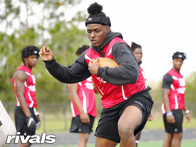 """Notre Dame offered 2023 Florida State """"athlete"""" commit Cedric Baxter earlier this week."""