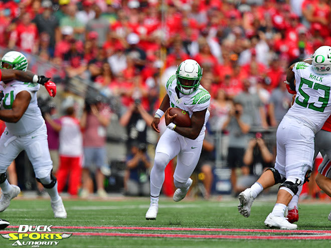 Mario Cristobal's vision for Oregon football was on full display in Columbus.