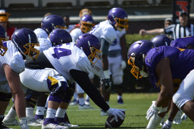 ECU completed their spring football camp on Friday and are excited about Saturday's spring game.