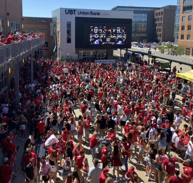 The Railyard had the feel of a normal game day on Saturday.
