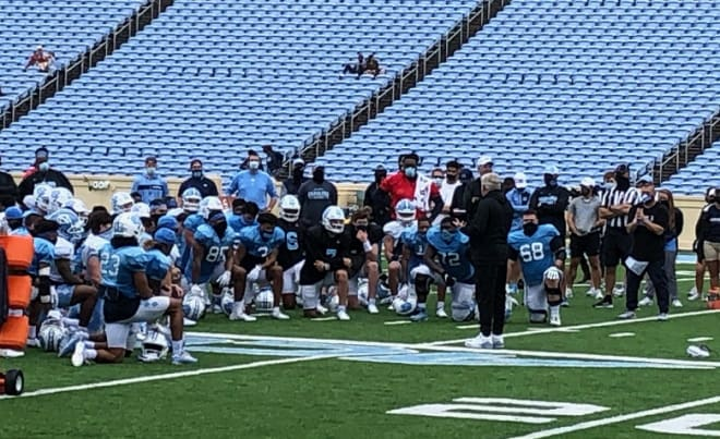 UNC begins the 2021 campaign on the practice field Thursday morning, so what are the points of emphasis this month?