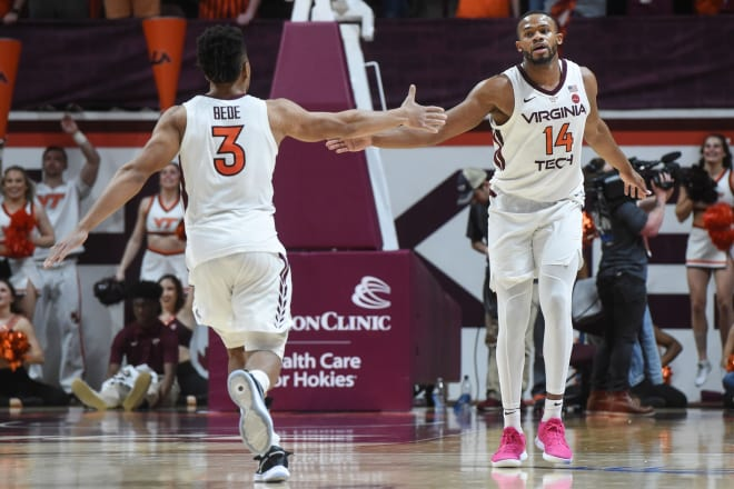 P.J. Horne (14) is transferring from Virginia Tech to Georgia.