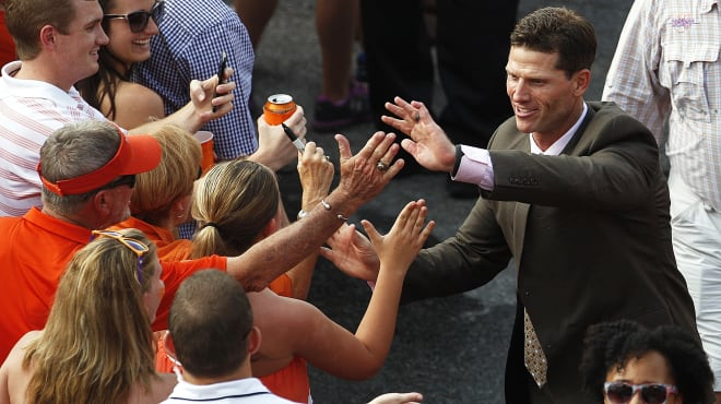 Brent Venables has coached in six national championship games.