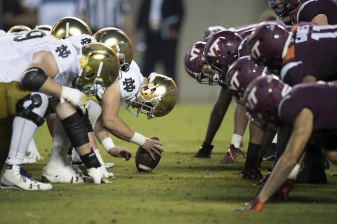 Notre Dame Fighting Irish football vs. Virginia Tech Hokies