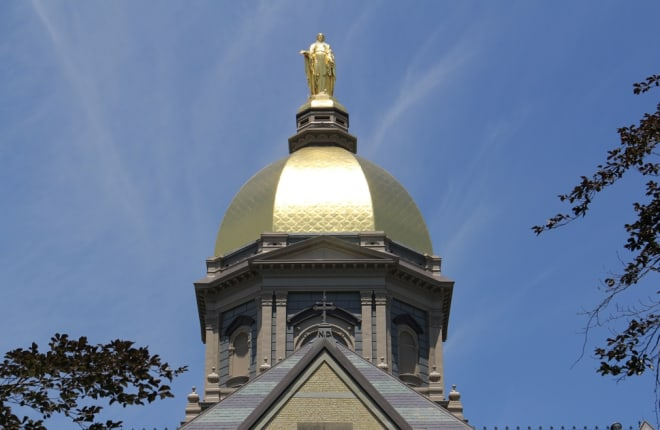 Notre Dame's Golden Dome
