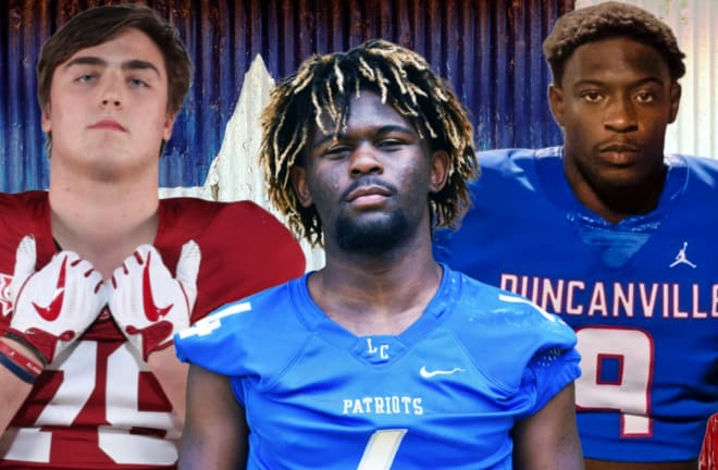 Tommy Brockermeyer, Camar Wheaton, and Kendrick Blackshire are among Texas' top prospects, each are apart of this incredible class of 2021