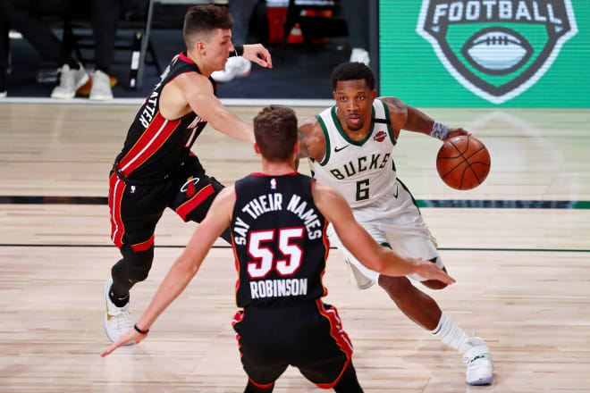 Duncan Robinson Is Really Heating Up In Nba Playoffs For The Miami Heat Michigan Wolverines Basketball