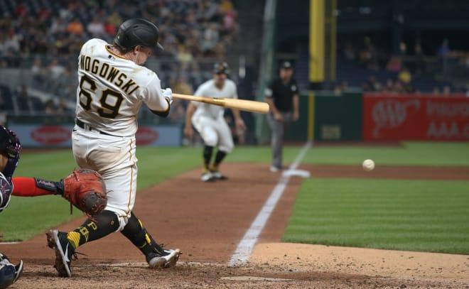 Former FSU baseball star John Nogowski enjoying a magical start to his time with the Pittsburgh Pirates.