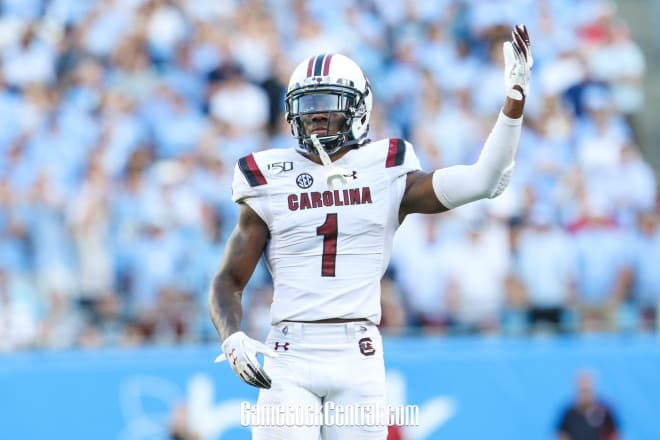 Gamecocks junior cornerback Jaycee Horn was selected by the Carolina Panthers with the No. 8 pick in the first round of the 2021 NFL Draft Thursday night.