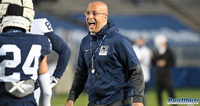 Penn State Nittany Lions Football head coach James Franklin