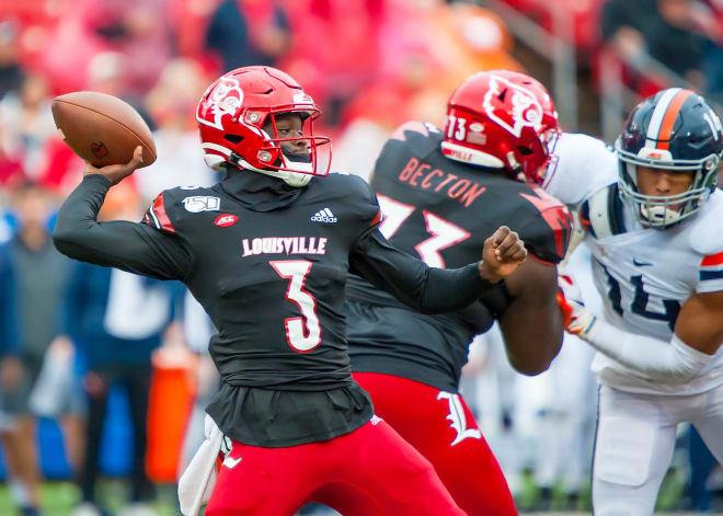 Louisville Cardinals Football Malik Cunningham