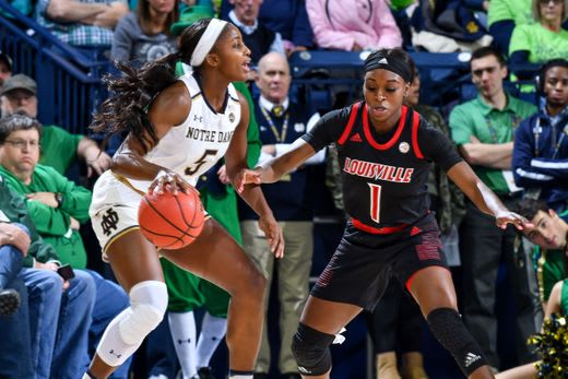 Guard Jackie Young remains questionable for tonight's game at Clemson because of a right ankle sprain.