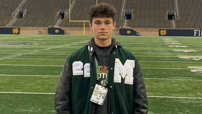 Ohio quarterback Drew Allar has already been on Notre Dame's campus.