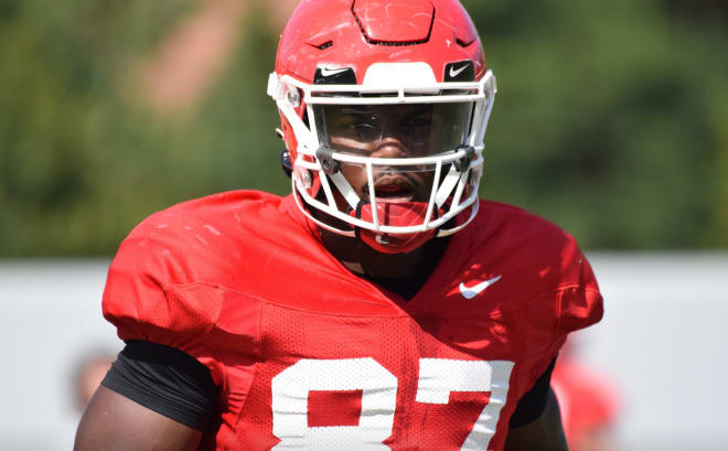 Tre' McKitty has his knee scoped following an injury during Saturday's scrimmage.