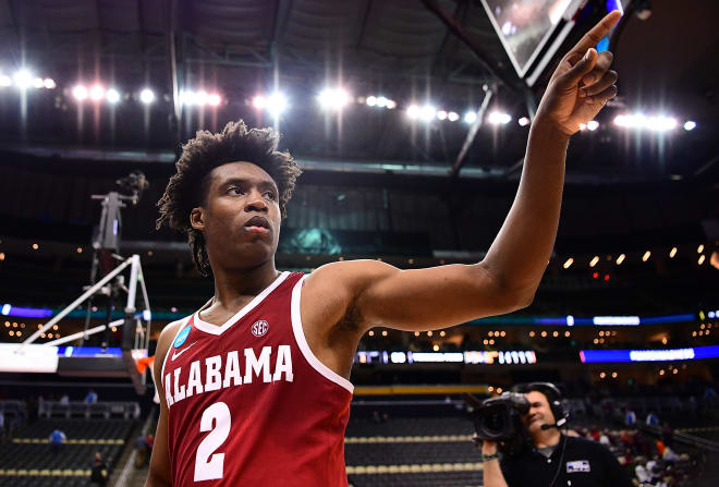 Collin Sexton will enter this season's NBA Draft. Photo | Getty Images