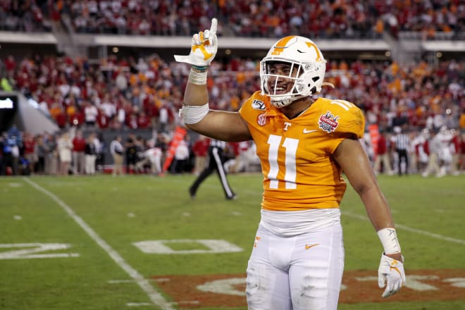 Henry To'o To'o is cleared to play for Alabama this season. Photo | Getty Images