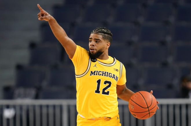 Michigan Wolverines basketball G Mike Smith