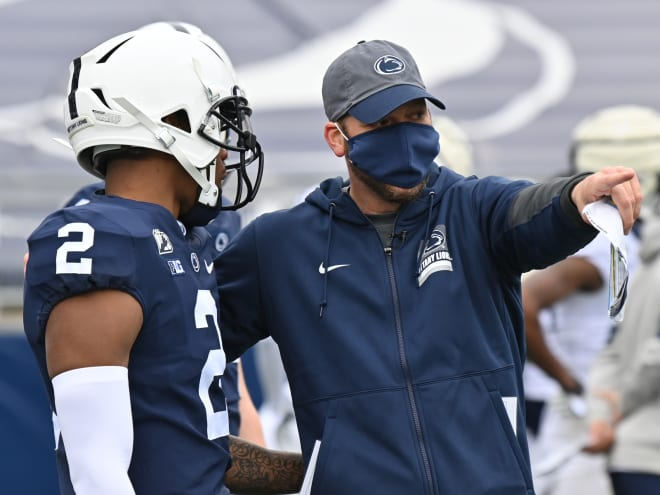 Penn State Nittany Lions Football offensive coordinator Mike Yurcich