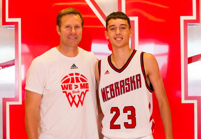 2023 Bixby (Okla.) shooting guard Parker Friedrichsen has a close connection to Nebraska, which made his visit to Lincoln on Thursday extra special.