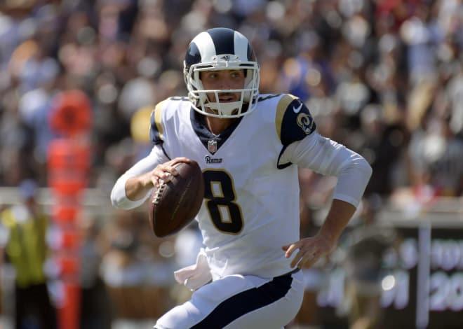 Former Arkansas quarterback Brandon Allen