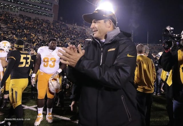 Gary Pinkel retired as Missouri's coach in November of 2015