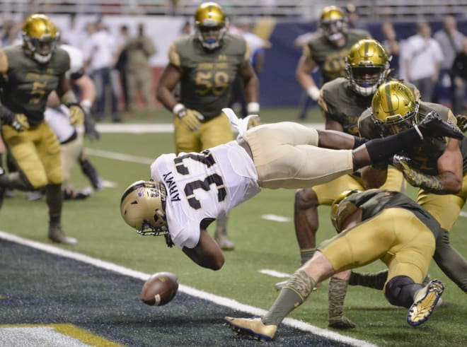 Army and Notre Dame last played in 2016, a 44-6 Irish win in San Antonio.
