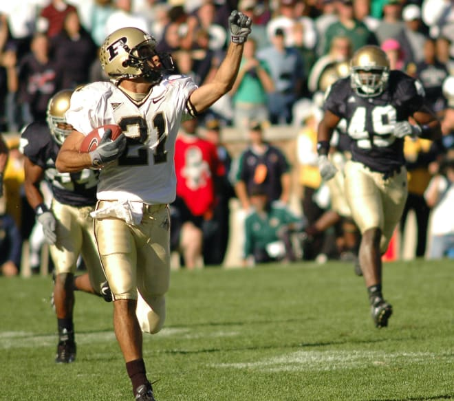 Taylor Stubblefiled far exceeded his recruiting hype, leaving Purdue as the NCAA's all-time leader in catches.