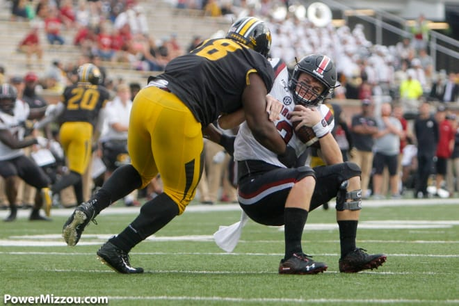Missouri will look for Kobie Whiteside to anchor the defensive line in his senior season.