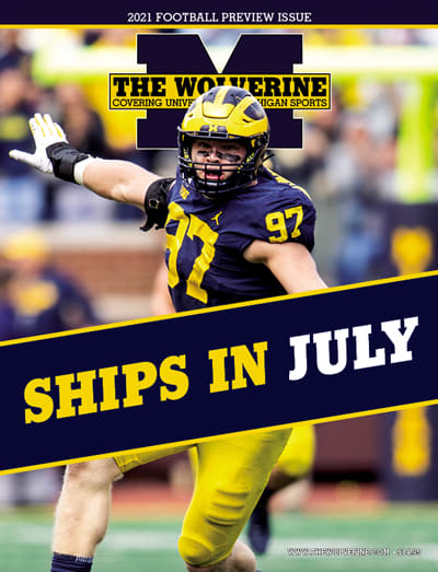 Michigan Wolverines football preview magazine