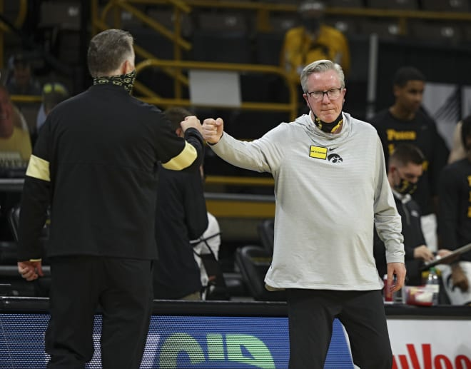 Fran McCaffery and eight other Iowa coaches received contract extensions.