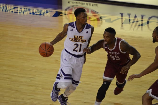 ECU's B.J. Tyson joins fellow guard Jeremy Sheppard in picking up AAC honors for this week.