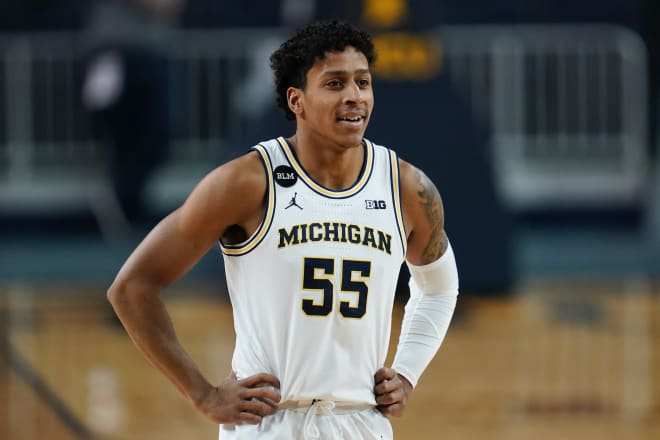 Michigan Wolverines basketball fifth-year senior guard Eli Brooks is using the NCAA's extra year of eligibility this winter.