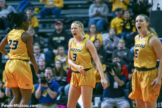 In perhaps the signature performance of her Missouri career, Sophie Cunningham scored 24 points at No. 5 Mississippi State after being treated for flu-like symptoms.