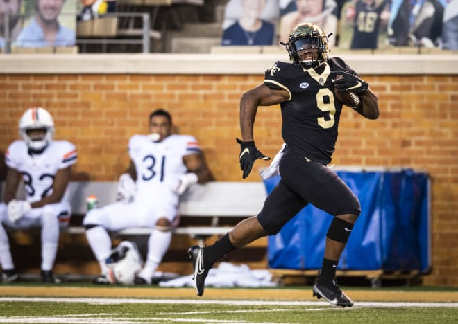 Walker came up with three scores for the Deacs
