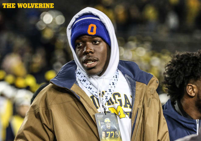 Five-star defensive end Zach Harrison is arguably Michigan's top overall target remaining.