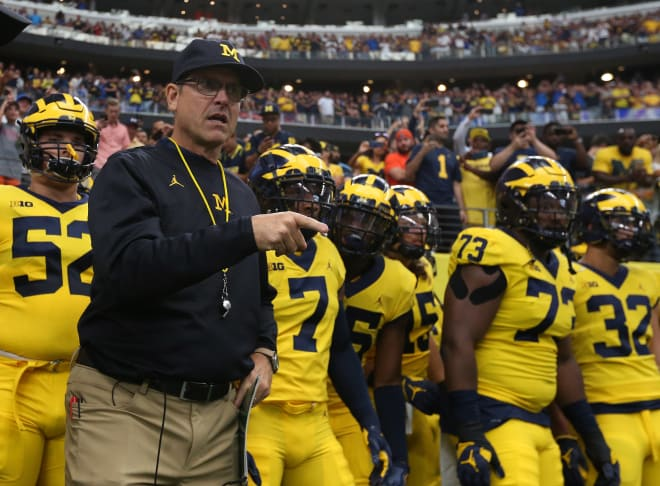 Every head football coach in the Big Ten will makeover $3.9 million in 2020. Michigan's Jim Harbaugh leads the way at $7.5 million.