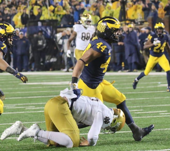 Michigan Wolverines football's Cam McGrone