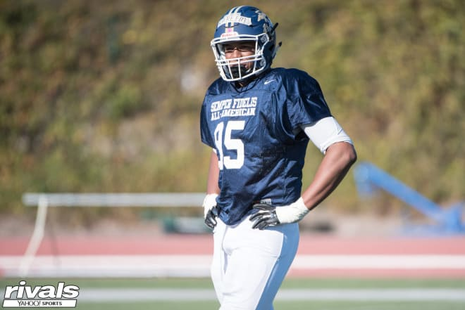 Khalid Kareem will enroll at Notre Dame on Jan. 11 and participate in spring practices.